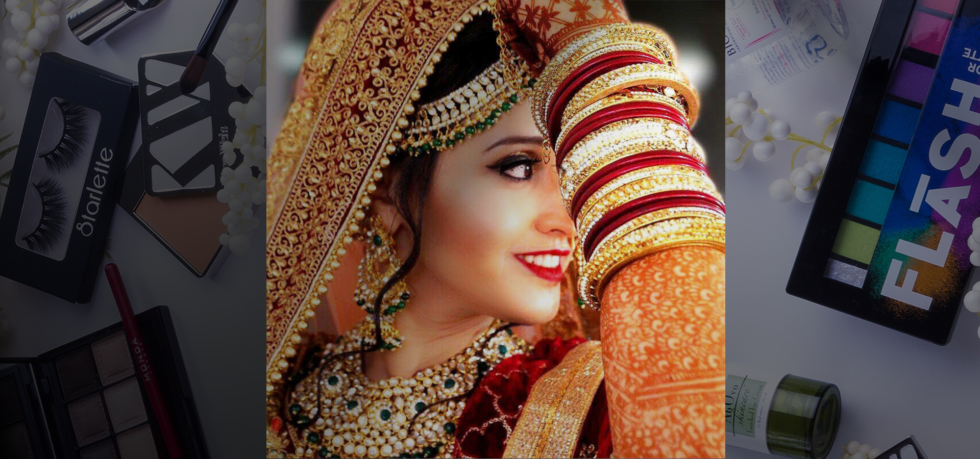 find bridal makeup vadodara